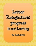 Letter Recognition: Progress Monitoring