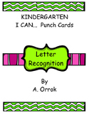 Letter Recognition Punch Cards