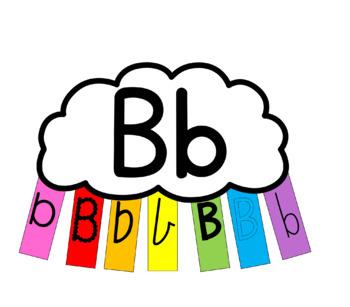 Letter Recognition Rainbows