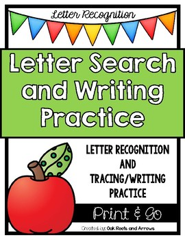 Letter Recognition Search, Trace and Write