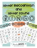 Letter Recognition & Sound BINGO
