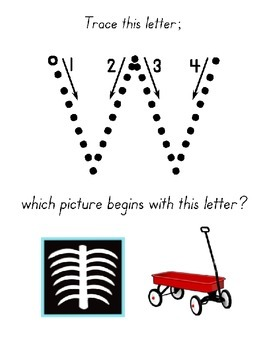 Letter Recognition / Sound Identification ~ Upper & Lower Case ~ 110 page ebook