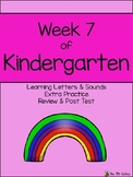 Letter Recognition/Sounds Extra Practice (Week 7 Review & Assessment)