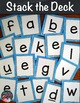 Letter Recognition Stack the Deck A Flashcard Activity For Lowercase Letters