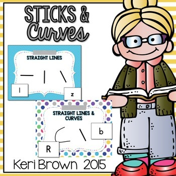 Letter Recognition: Sticks and Curves