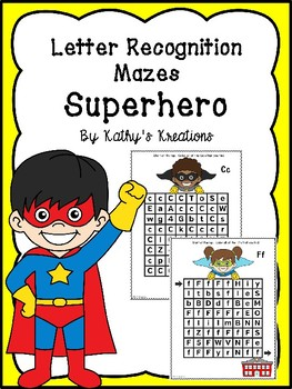Letter Recognition -Superhero