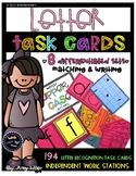 Letter Recognition Task Cards [Task Box]