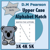 Letter Recognition  Upper Case Alphabet Match
