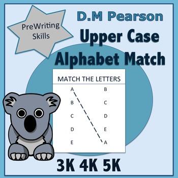 Letter Recognition  Upper Case Alphabet Match