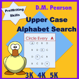 Letter Recognition  Upper Case Alphabet Search