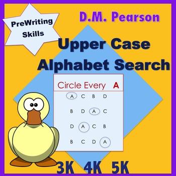 Letter Recognition  Upper Case Alphabet Search