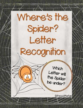 Letter Recognition Where's the Spider?
