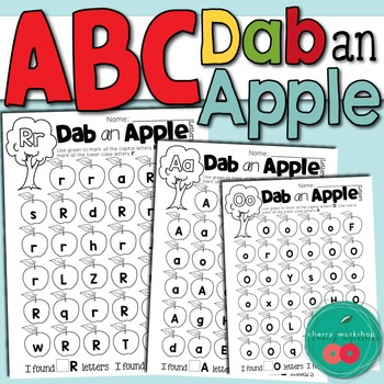 Apple Letter Worksheets