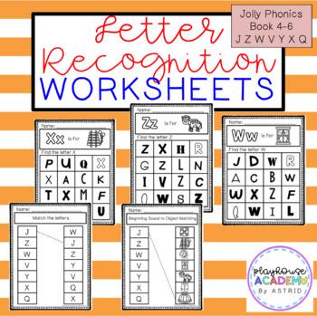 Jolly Phonics Letter W Worksheets : Jolly Phonics Workbook 3 G O U L F B
