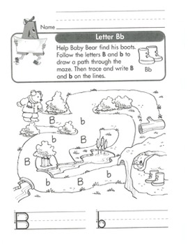 Letter Recognition and Beginning Handwriting