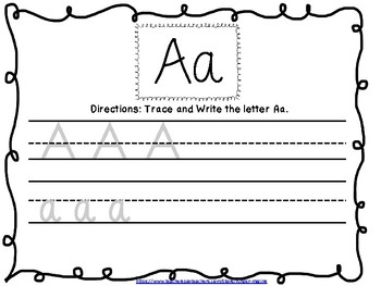 Letter Recognition and Identification Book