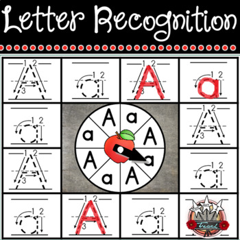 Letter Recognition and Letter Formation Centers and Printables