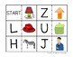 Letter Recognition and Letter Sound Dominoes Game
