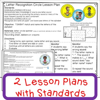 Letter Recognition and Letter Sound May Literacy Center