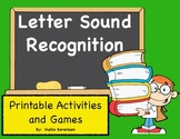 Letter Recognition and Letter Sounds