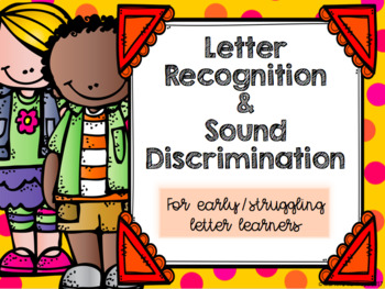 Letter Recognition and Sound Discrimination