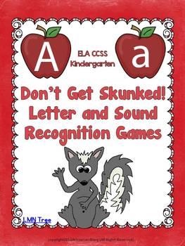 Letter Recognition and Sound Recognition Games - Don't Get Skunked!