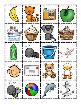 Letter Recognition and Sound:  Guess My Rule Game!