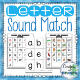 Letter Recognition and Sound Matching Center (Kindergarten Phonics)