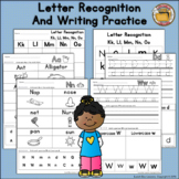 Letter Recognition and Writing Practice
