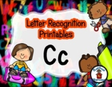 Letter Recognition for C - #DollarDeals - 10 pages   *o