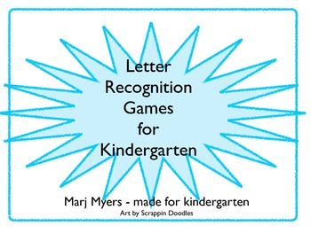 Letter Recognition for Kindergarten