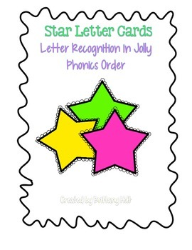 Letter Recognition in Jolly Phonics Order