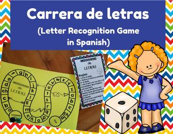 Letter Recognition in Spanish Game (Juego del reconocimien