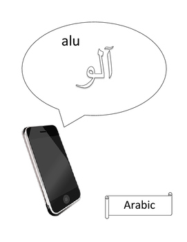 Phone greetings in 54 languages
