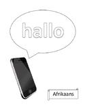 Phone greetings in 54 languages