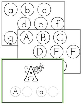 Letter Recognition through Circle Letters