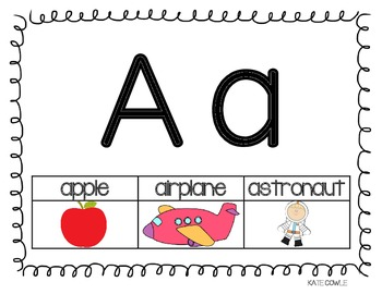 Letter Recognition and Phonemic Awareness Pack
