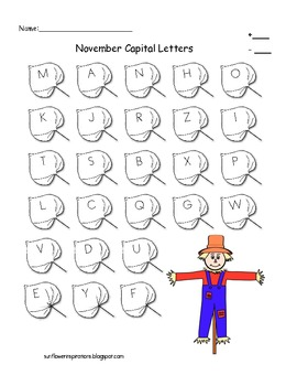 Letter Recognition/Sounds and Number Assessments