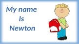 Letter Reference Book For Learning Name- Printable