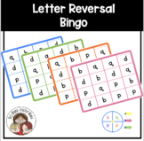 Letter Reversal Bingo