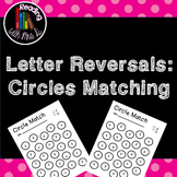 Letter Reversal Circle Matching