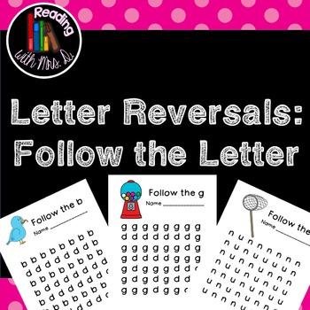 Letter Reversal Follow the letter