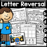 Letter Reversal NO PREP Packet (b and d, p and q)