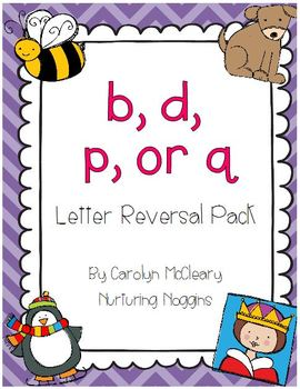 Letter Reversal Pack [b, d, p, and qu (or q)]