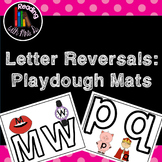 Letter Reversal Playdough Mats