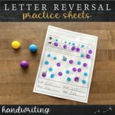 Letter Reversal Practice