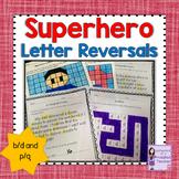 Letter Reversal Practice: b/d and p/q (Superhero Theme) #hellofall
