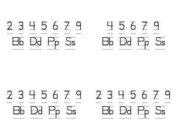 Letter Reversal Signs