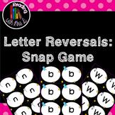 Letter Reversal Snap Game