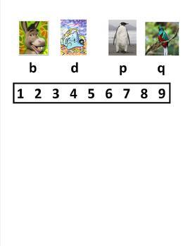 Letter Reversal Visual SPANISH